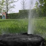 Impianti di irrigazione interrati, a goccia per prati, giardini e spazi verdi
