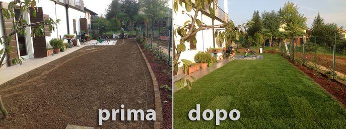 Realizzazione giardini milano e monza brianza fratelli - Recinzioni giardini privati ...